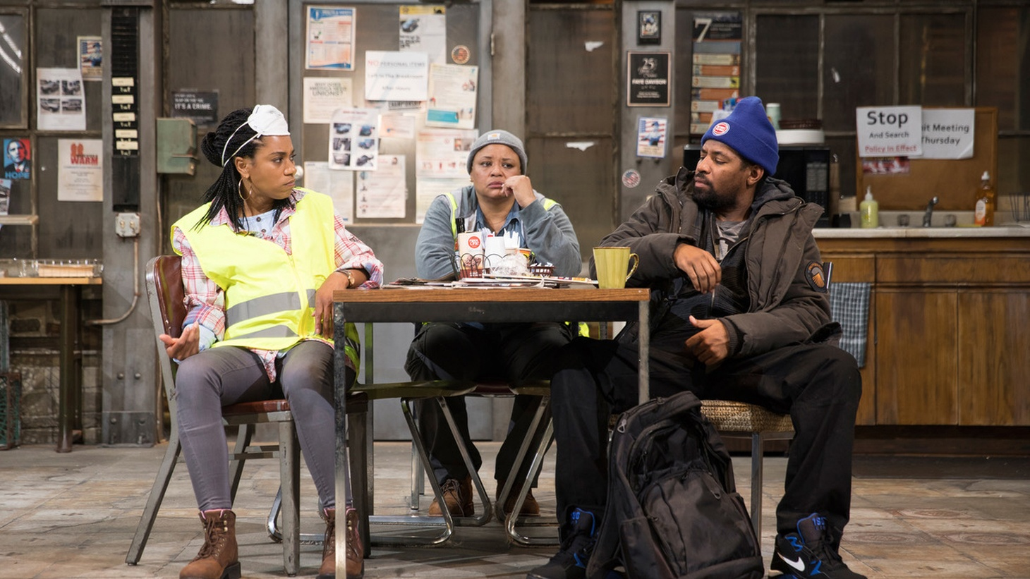 """Dominique Morisseau's play """"Skeleton Crew"""" is a feel good play about an auto plant closing. It takes place in the break room of a Detroit auto plant. Times are tough. Plants are closing all over the place."""