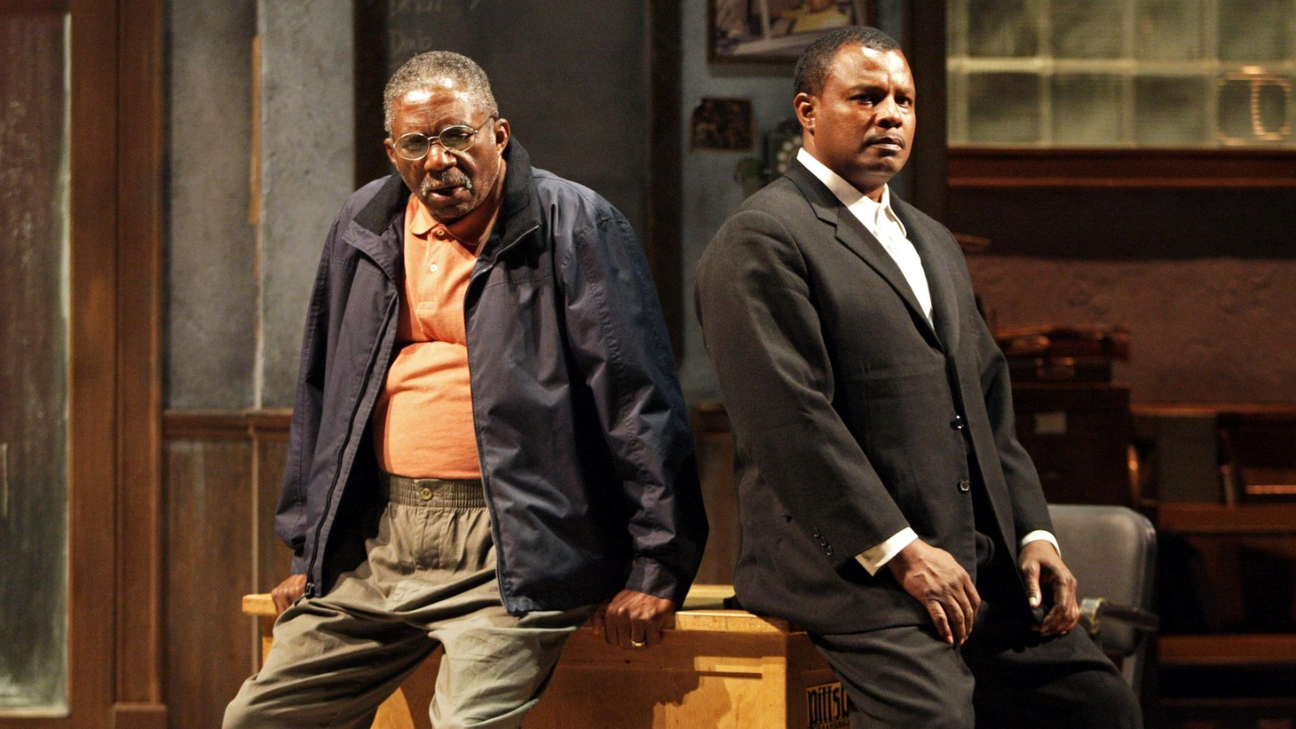 "Anthony Byrnes remembers the economy, elegance and scope of playwright August Wilson, as he reviews SCR's revival of ""Jitney,"" currently up at the Pasadena Playhouse."