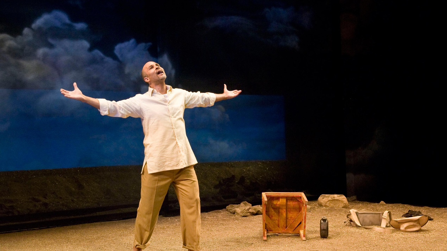 Anthony Byrnes reviews 'Los Otros,' which plays at the Mark Taper Forum downtown through July 1.
