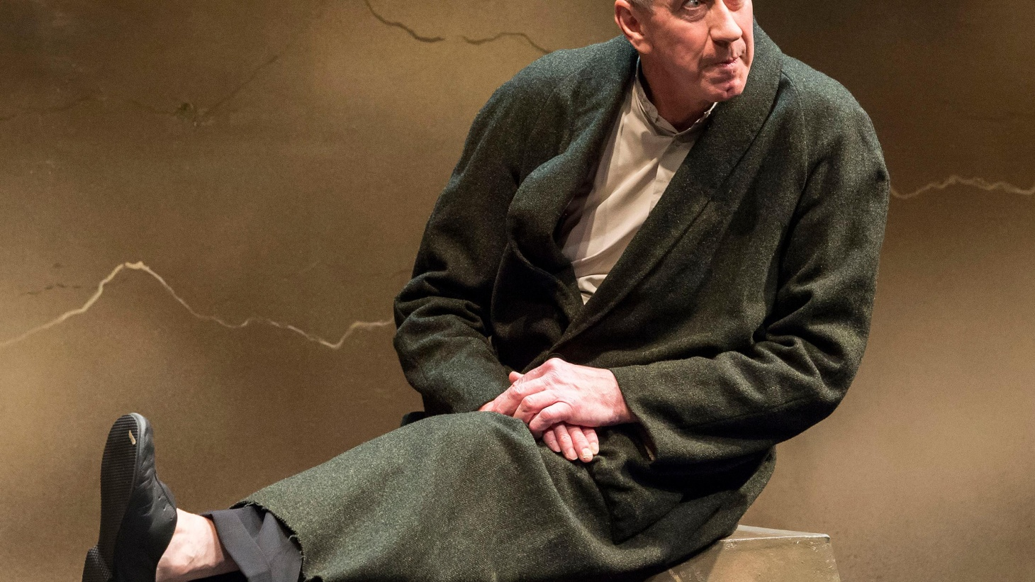 """Barry McGovern takes three of Samuel Beckett's novels and boils them down into the one-man show, """"I'll Go On,"""" at the Kirk Douglas Theatre."""