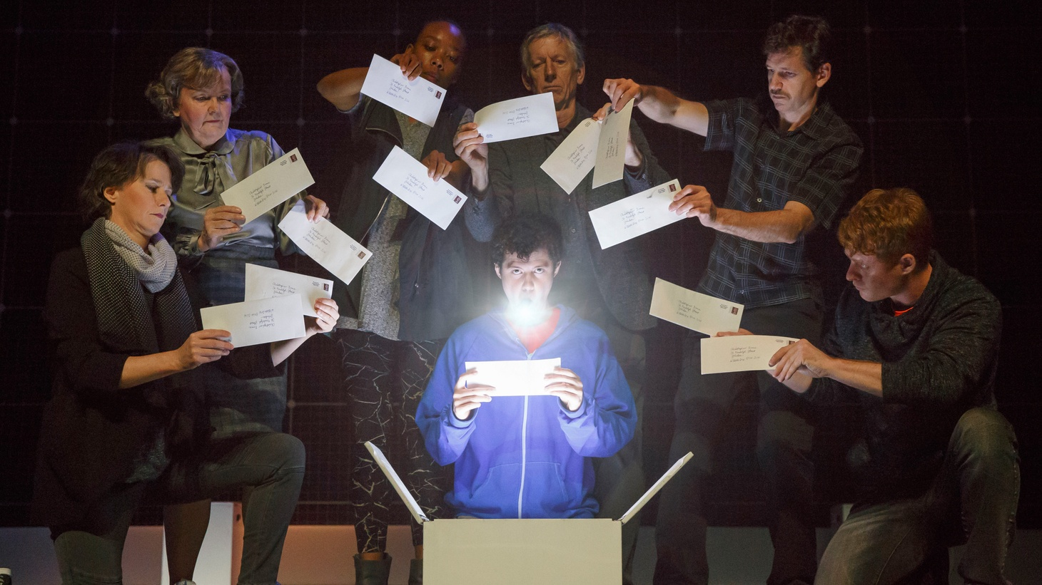 The Curious Incident of the Dog in the Night-Time doesn't so much tell you a story as it does allow you to sense the world through the lens of a 15-year-old boy, Christopher.