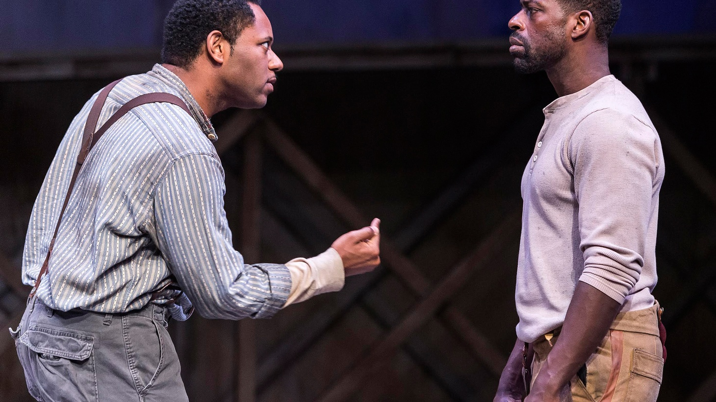 If you only have time for one play this spring, the Taper's production of Suzan-Lori Parks' Father Comes Home from the Wars is it.