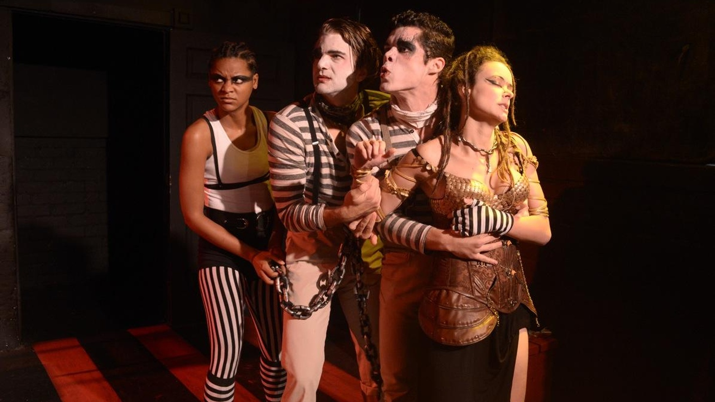 The Stella Adler Lab Theater takes on one of Shakespeare's 'problem' plays, Titus Andronicus.
