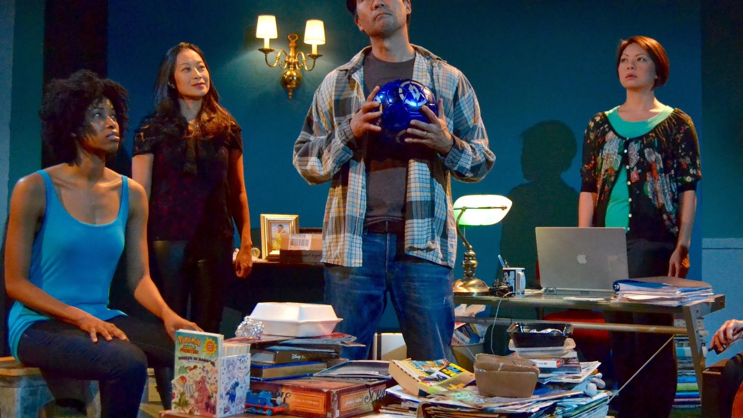 A tragic event, a broken father and the hope of technology to contact the afterlife. Clever writing and a diverse cast help The Speed of Jake along on stage.