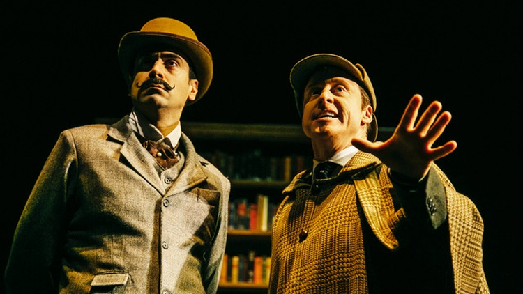 "The Sherlock Holmes inspired play ""Mysterious Circumstances"" is itself a bit of mystery … but not in the way the Geffen's Artistic Director Matt Shakman probably intended it."