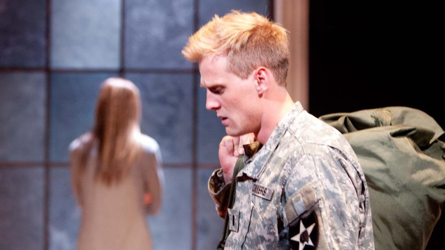 The mysterious death of an American soldier in Iraq lays the groundwork for Christopher Shinn's intimate, character-driven piece at Rogue Machine Theatre.