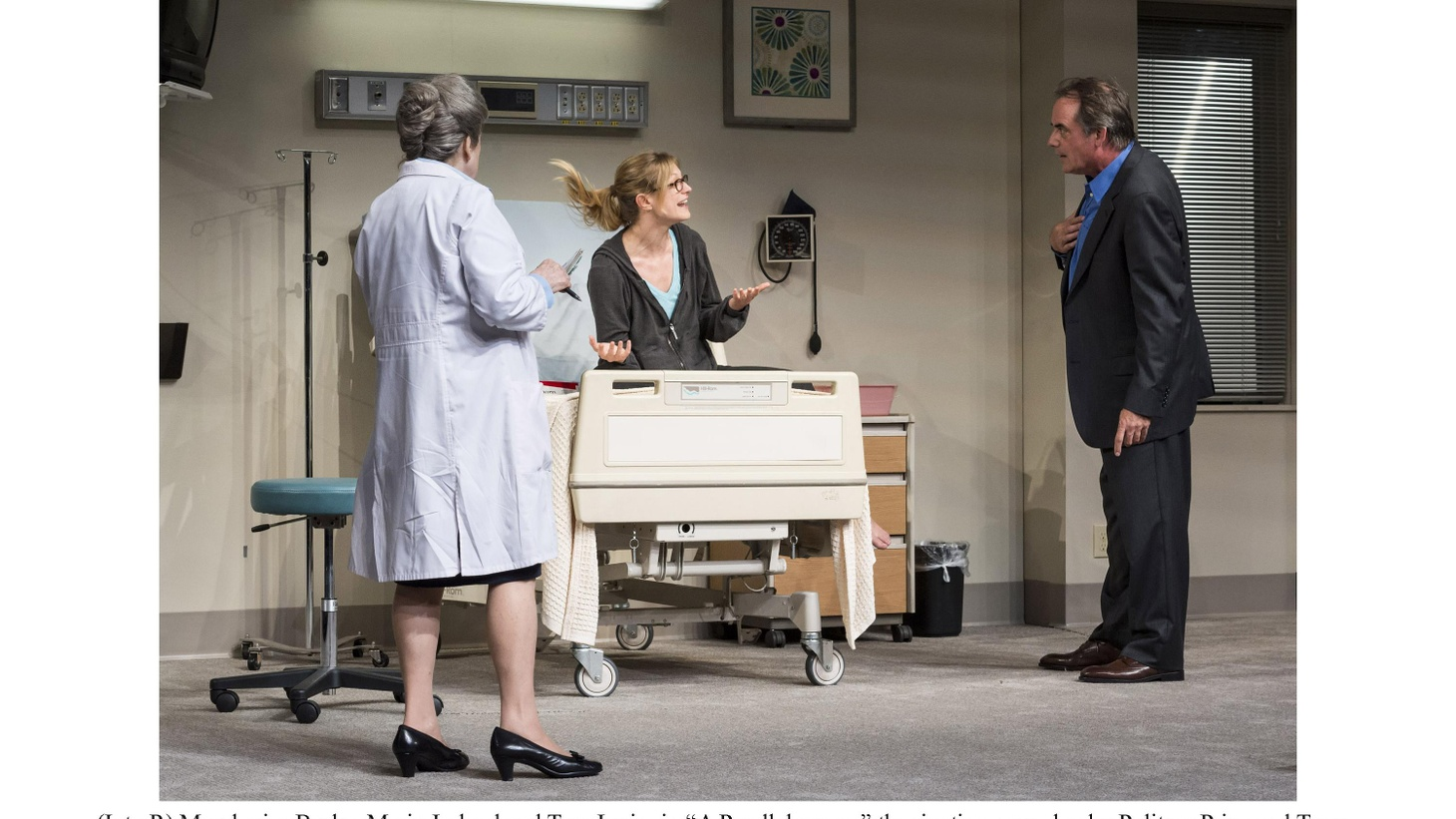'A Parallelogram,' Bruce Norris' new play at the Taper, is, at least conceptually, a play about time travel.