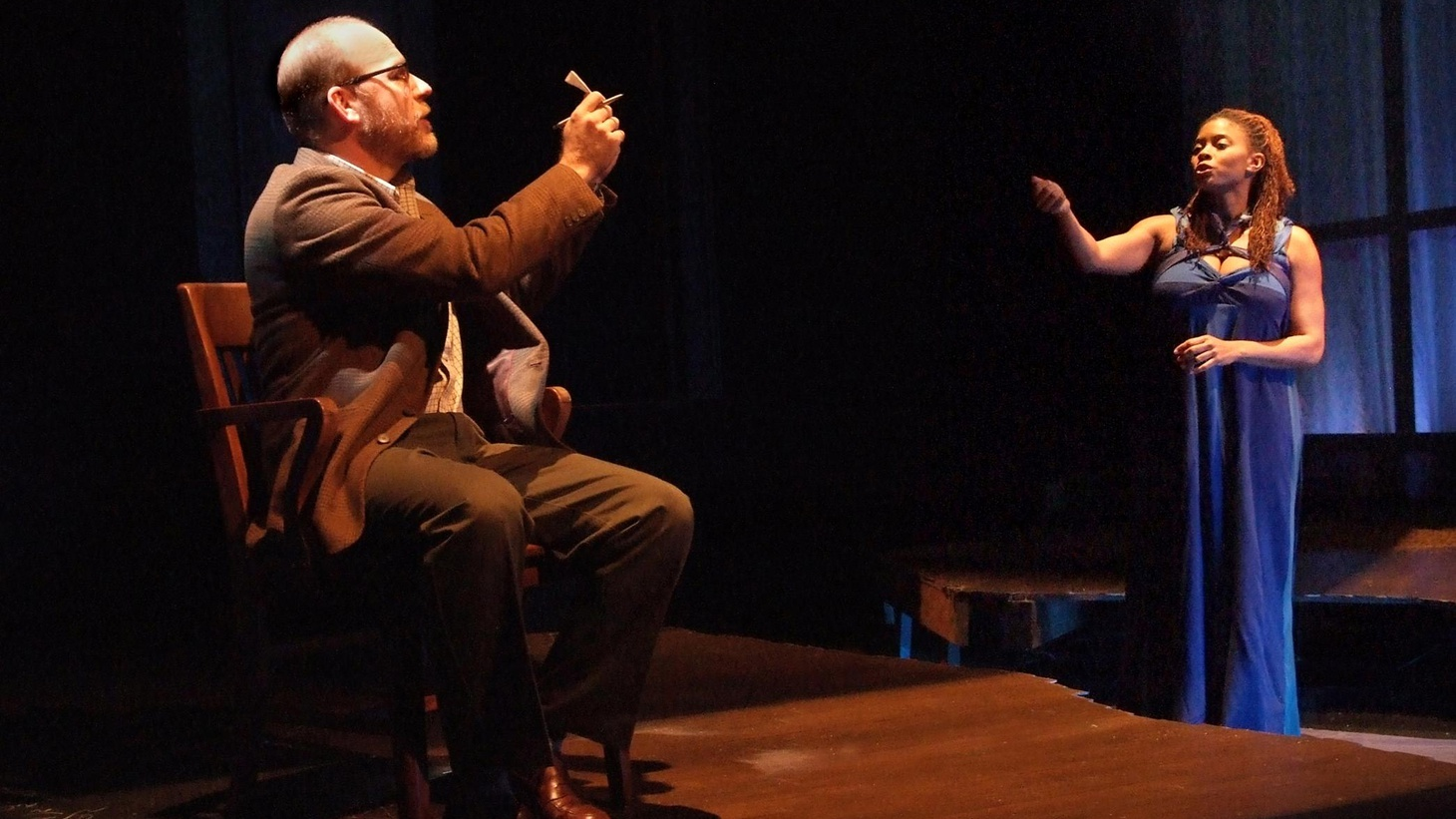 "It's easy to see what attracted Boston Court Theater to playwright David Wiener's play, ""Cassiopeia."""