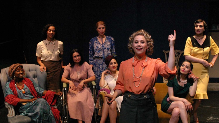 When is the last time you saw a play with a cast of eight complex women? I see a lot of theater and I think my answer is right next to never ...but an all female cast isn't the only…