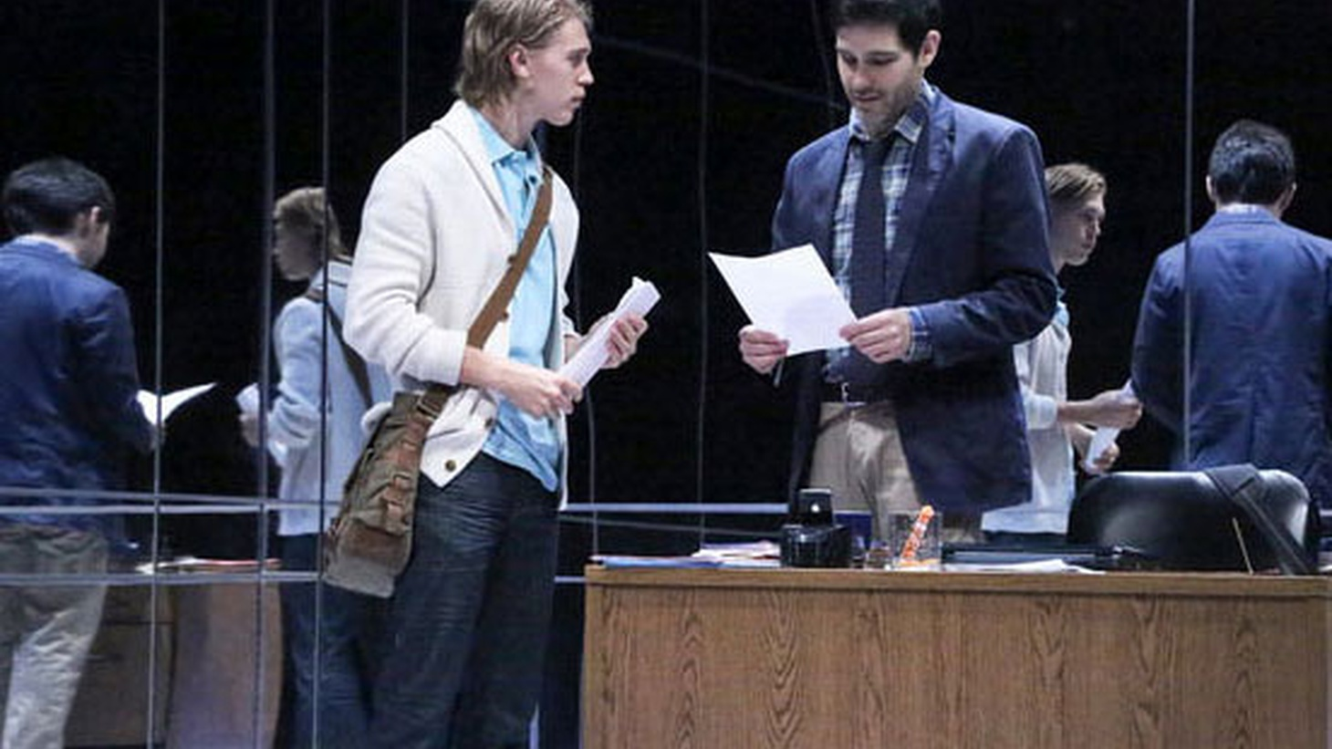 Playwright Steven Drukman's Death of the Author combines postmodern literary theory, the power dynamics of the classroom and an ethics seminar on intention.
