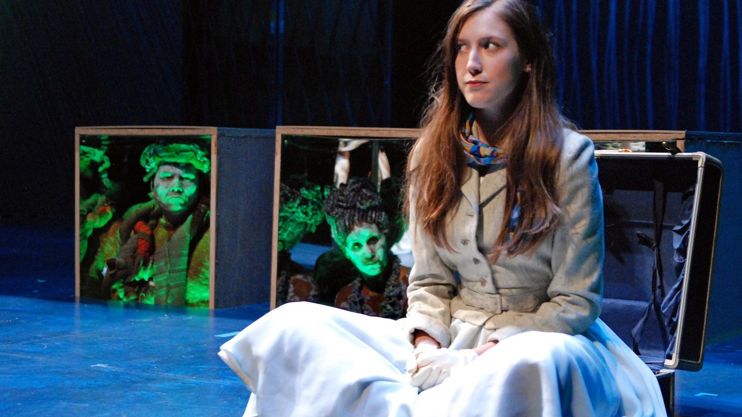 The myth of Orpheus and Eurydice becomes the backbone for Sarah Ruhl's 'Eurydice,' a story of love and about the inevitable act of letting go of the things we love.