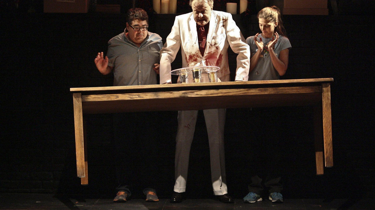 """Play Dead,"" at the Geffen, is a concoction of Teller, of Penn and Teller fame, and Todd Robbins, is a cross between a magic show, a séance, and an old school haunted house."