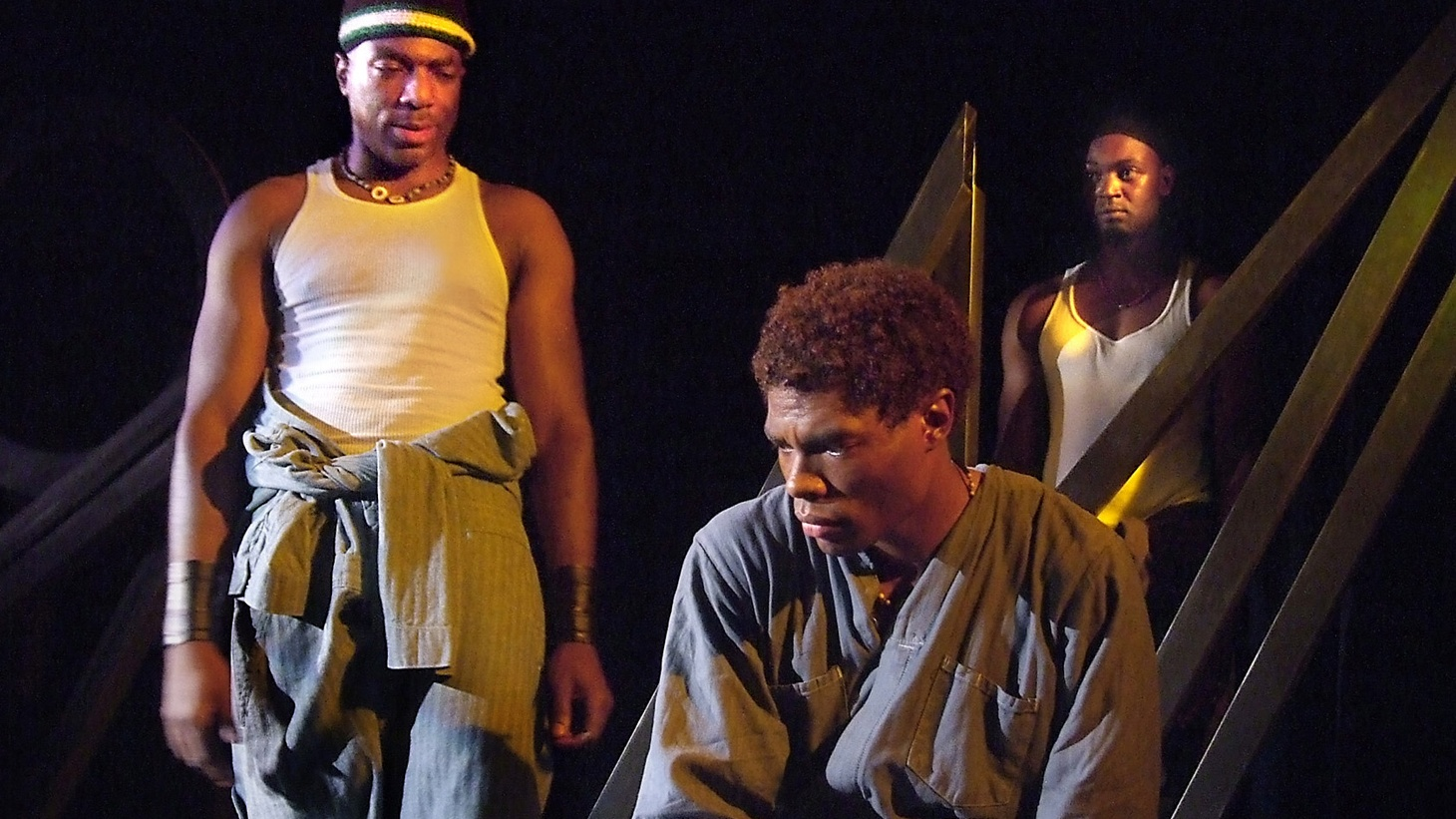 """While you might have a tough time traversing the play's worlds, the actors in """"The Brothers Size"""" embody the characters so completely that you are with them every step of the way."""