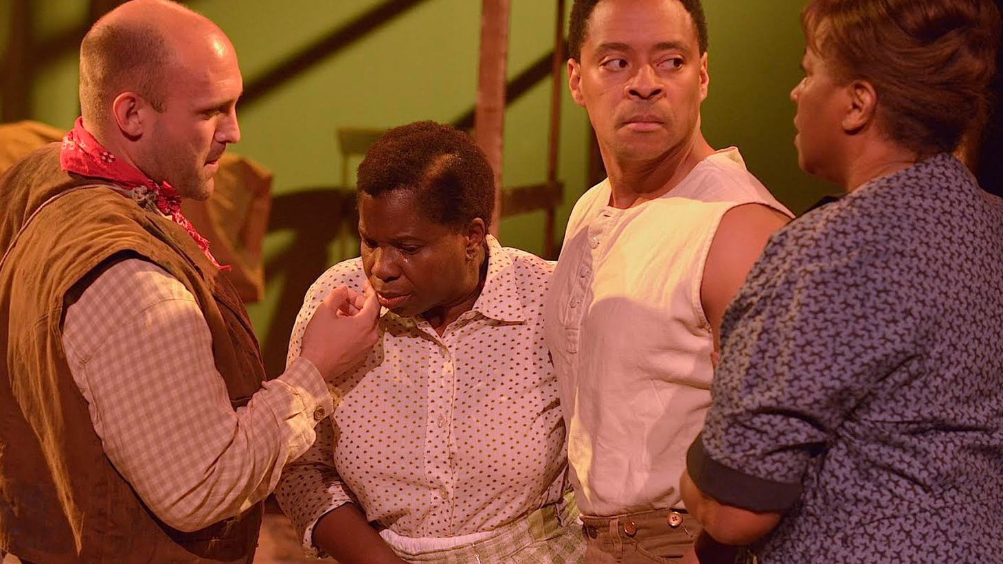 Sometimes, the Antaeus Company captures magic, reaching back and breathing new life into a forgotten gem. Their current production of Alice Childress' 1966 play Wedding Band: A Love-Hate Story in Black and Whiteis filled with that inspiration.
