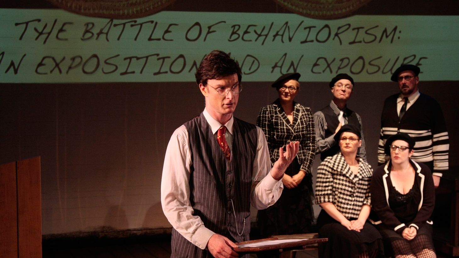 From director Matt Almos and co-director Ken Roht, whose signature joyful style is intact but somehow clearer; to the always grounded Hugo Armstrong who plays Broadus and strings together 20 years of work in a single night; to the uniformly stunning cast: this is LA's intimate theater at its complicated best.
