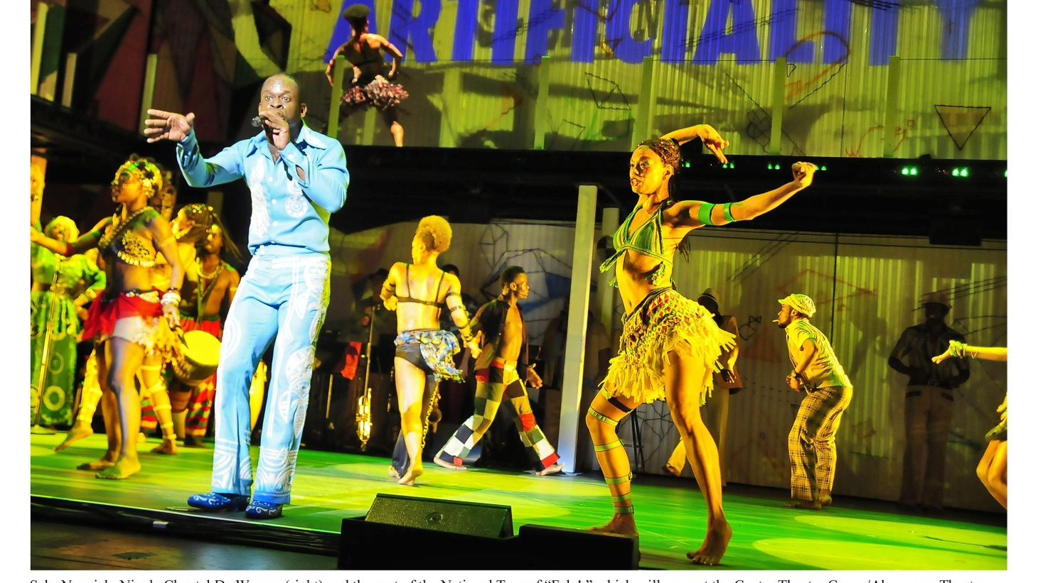 When you think of the music and life of Fela Kuti, a broadway musical isn't the first thing that comes to mind.