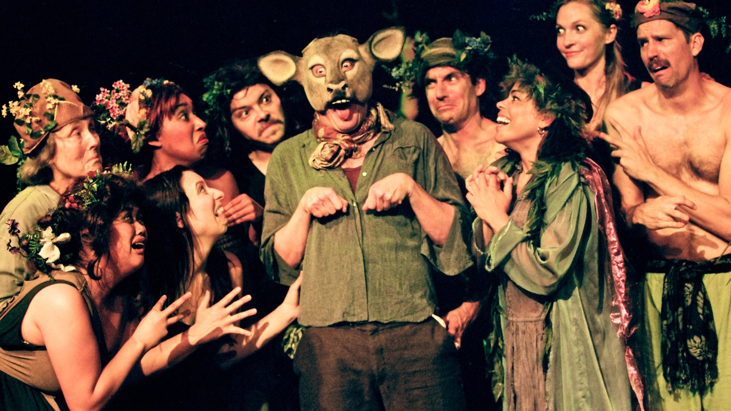 """Like most recent Actors' Gang shows, """"A Midsummer Night's Dream"""" comes down to a question of style. How you feel about the show, whether you find it creative and enchanting, or. . . otherwise depends on whether you buy into the Gang's style."""