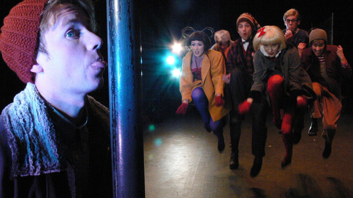 The Troubadour Theater Company works its unique brand of magic on 'A Christmas Story.'
