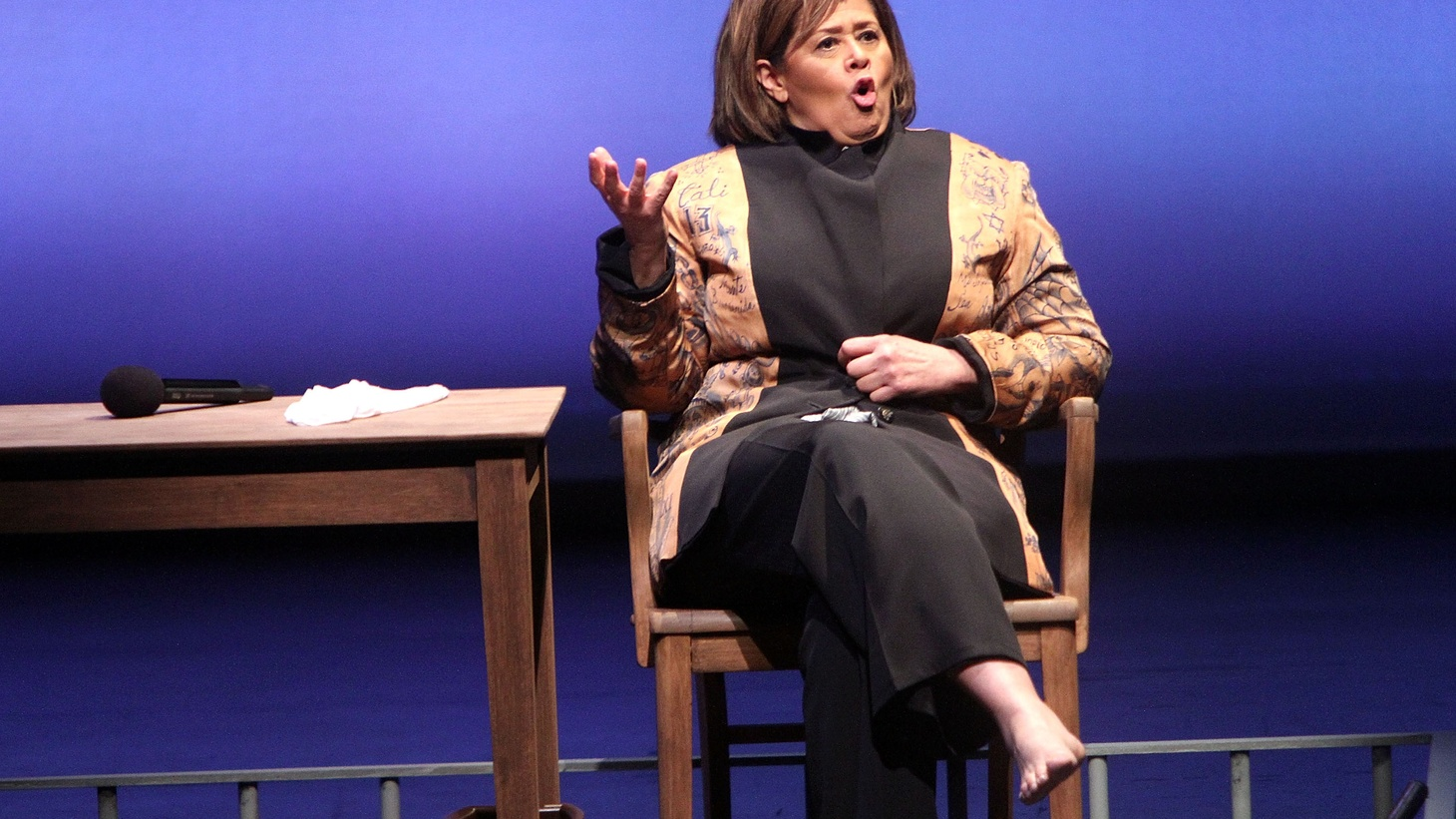 """In simplest terms, Anna Deavere Smith's latest piece at the Broad Stage is an exploration of the struggle of Civil Rights in America dating back to Dr. Martin Luther King's """"Letter from a Birmingham Jail."""" In more complex terms? It's a study in the unexpected circumstances of virtuosity."""