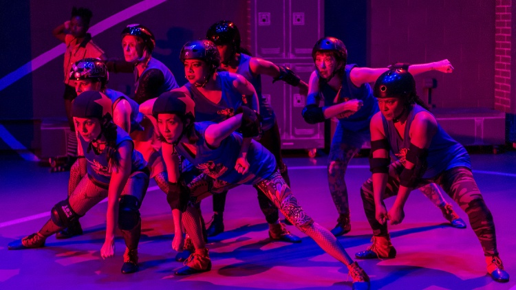 If you've been patiently waiting for a play about roller derby, I have good news.
