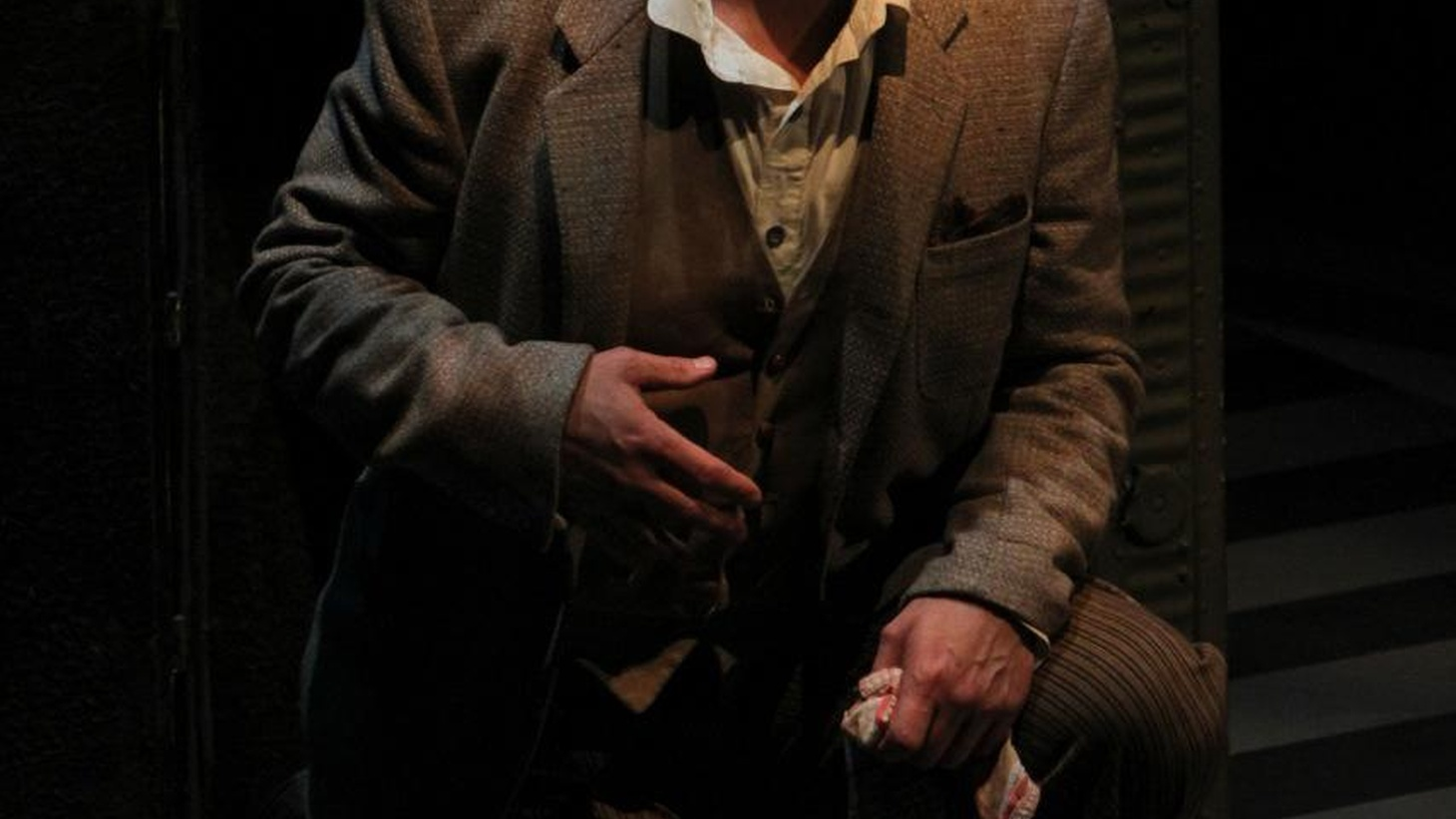 Actor Brian Finney's performance in Joseph Conrad's Heart of Darkness at the Actors' Gang shouldn't be missed.