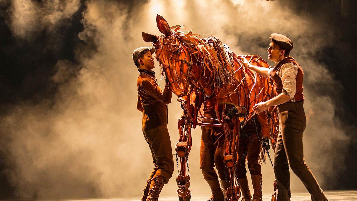 Anthony Byrnes on a simple 'boy and his horse' story and the theatrical magic created by the National Theatre of Great Britain and the Handspring Puppet Company.