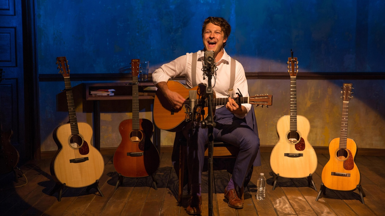 The Lion is a really tight solo show with remarkable guitar playing. It's a production that's filled with technique and . . . that might be part of the problem.