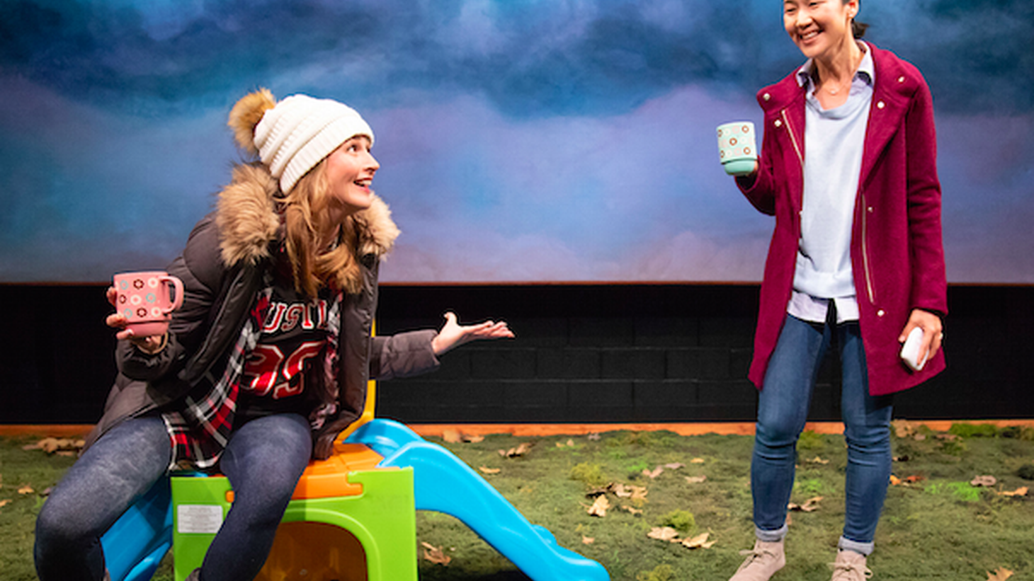 Yes, this is a play about new mothers but because child-rearing is inextricably linked to privilege and class it becomes about much, much more than that.