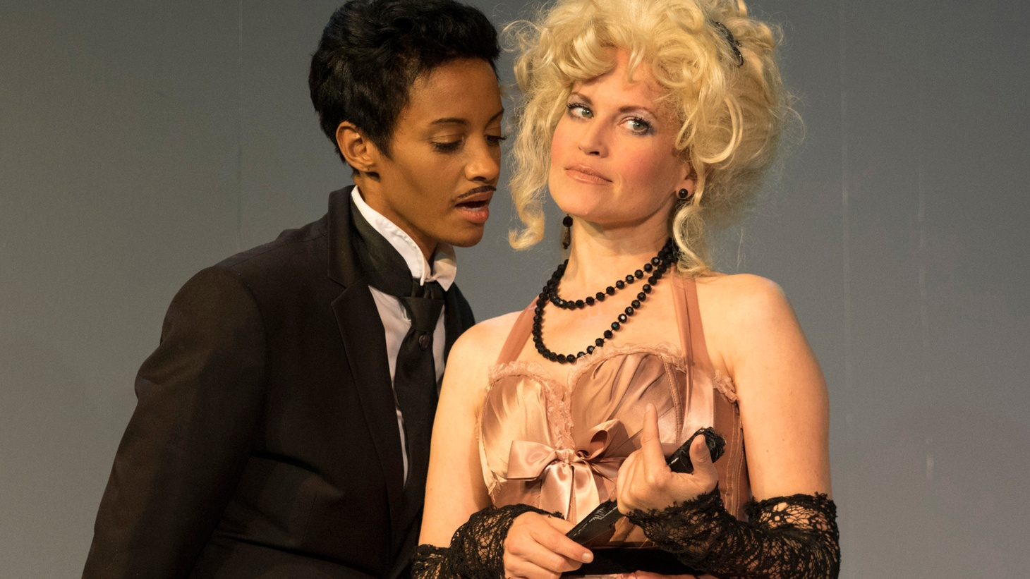 At its core, The False Servant is a Commedia-inspired, biting romantic comedy with a cross-dresser as a catalyst.
