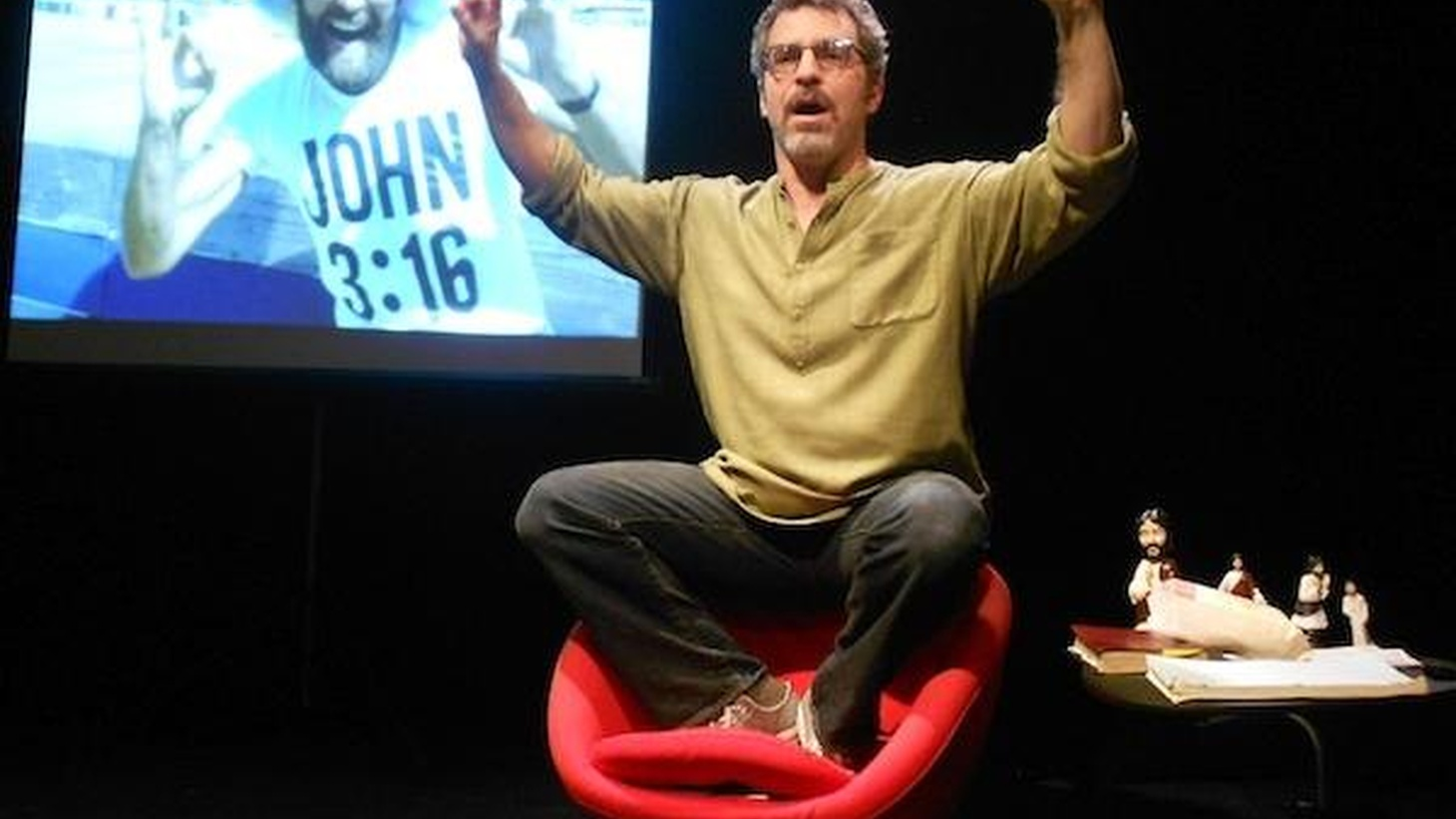 """Anthony Byrnes on Mike Schlitt's Jesus Ride, which he says plays """"like a great dinner party story that just happens to have video all cued up."""""""