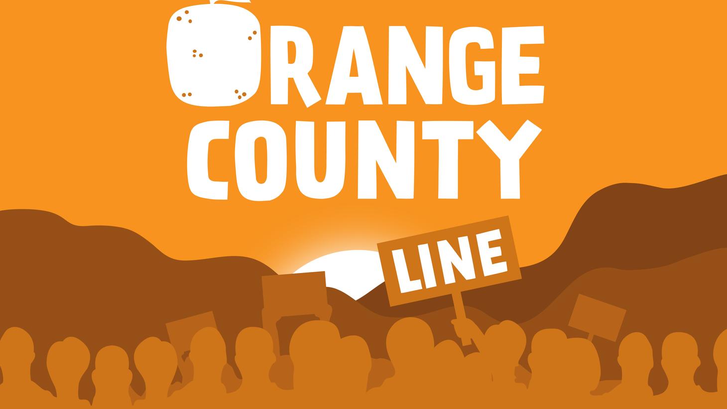 The spreading movement in Orange County.