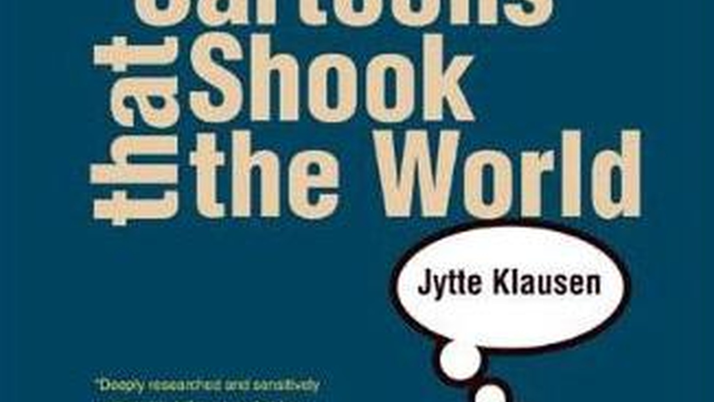 Yale University is publishing a book about the controversial cartoons that appeared in a Danish newspaper depicting the prophet Mohammed, which resulted in worldwide Islamic protests, riots and deaths. But the book itself will omit any and all images of the prophet. Jonathan Kirsch discusses this decision with religious scholars and others.