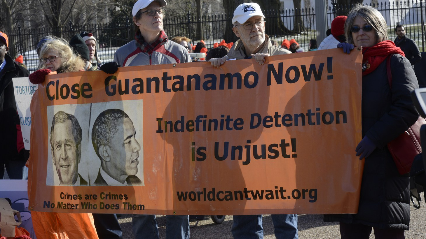 2015 DC Rally And March To Protest The 14th Year Of Guantanamo Torture And Indefinite Detention.