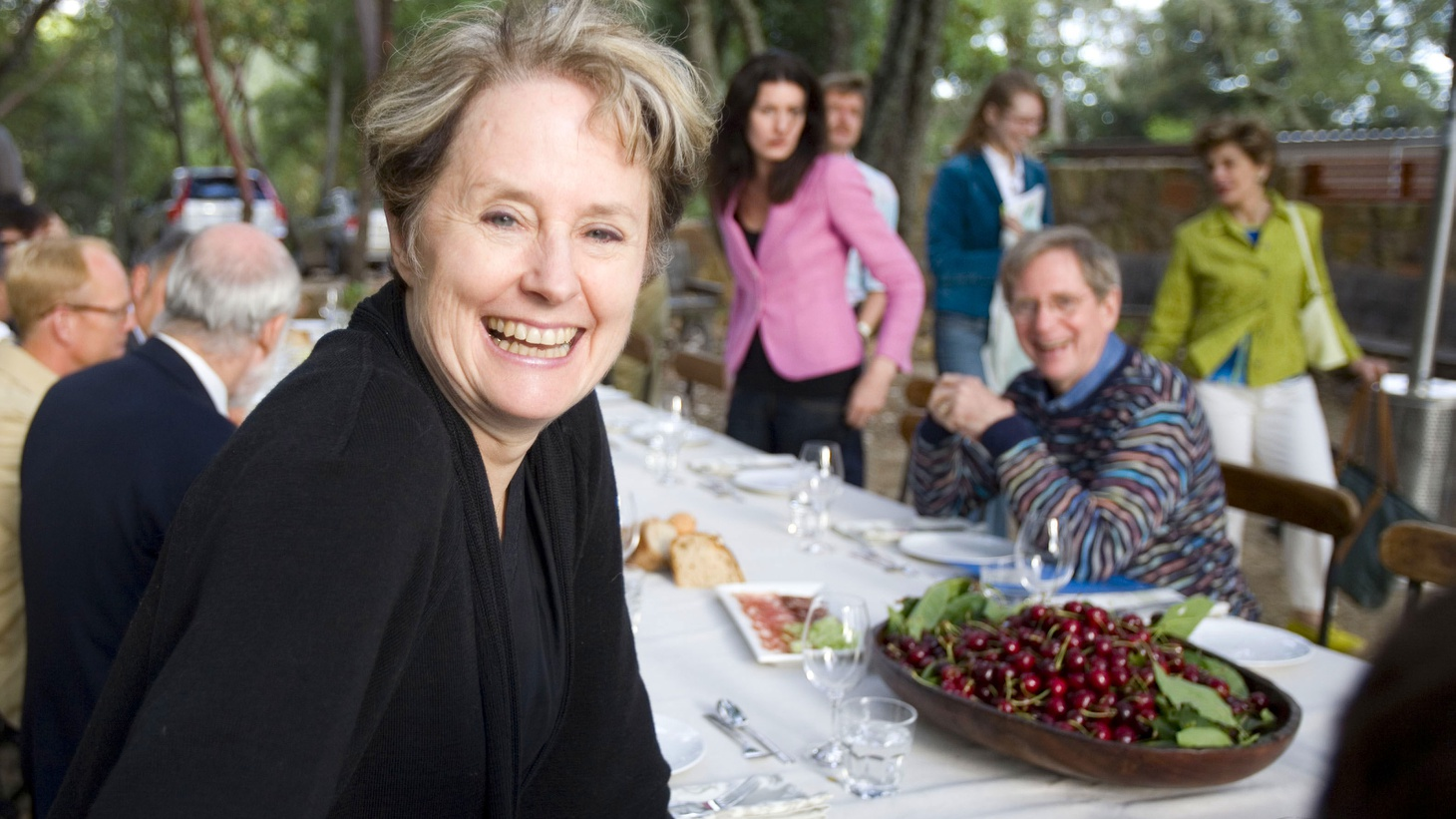 The legendary chef and proponent of the slow food movement discusses her influences and her newest book.