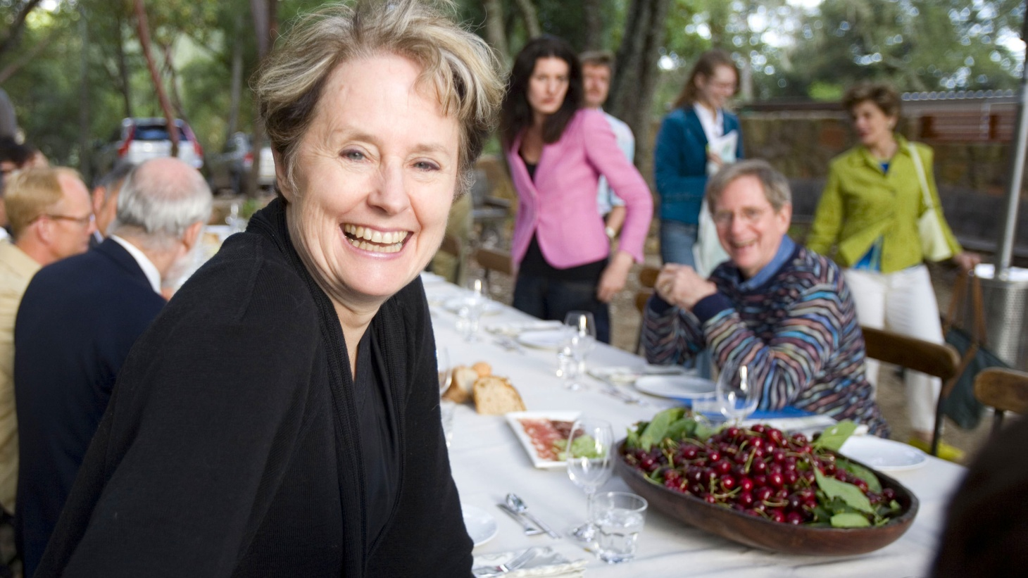 The legendary chef and proponent of the slow food movement discusses her iconic Berkeley restaurant and her involvement in the Edible Schoolyard Project.