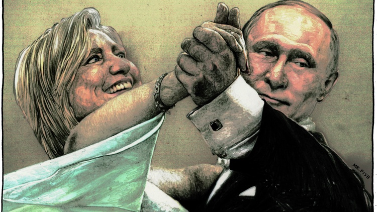 """In   """"  Rigged,"""" historian David Shimer documents both countries attempts to manipulate democracies abroad — and     comes to some questionable conclusions"""