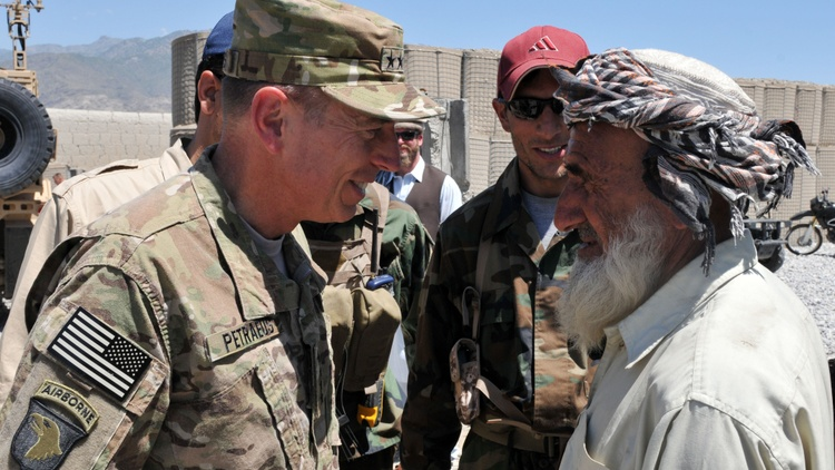 Maj. Danny Sjursen weighs in on the U.S. exit from Afghanistan and Gen. David Petraeus' dangerously false narrative about our country's longest war.