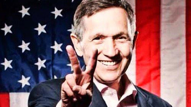 Robert Scheer sits down with long-time friend and former eight-term Ohio congressman Dennis Kucinich to talk about their friendship and how Kucinich's considers himself a…