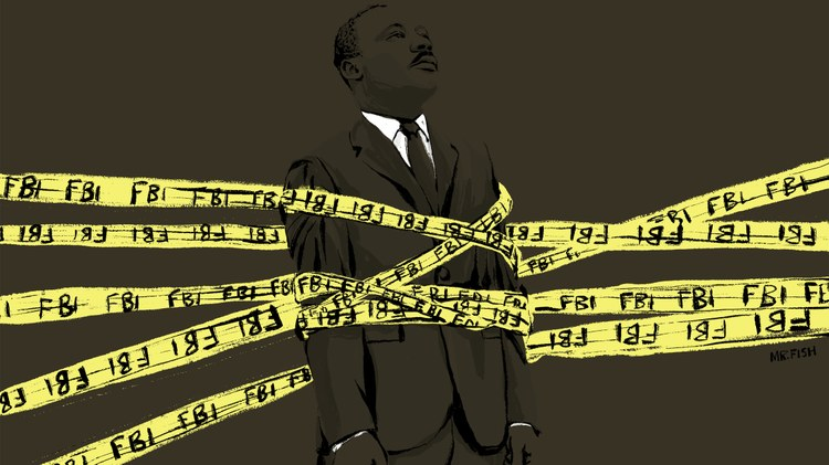 Director Sam Pollard did a deep dive into the FBI's surveillance of MLK under the leadership of J.
