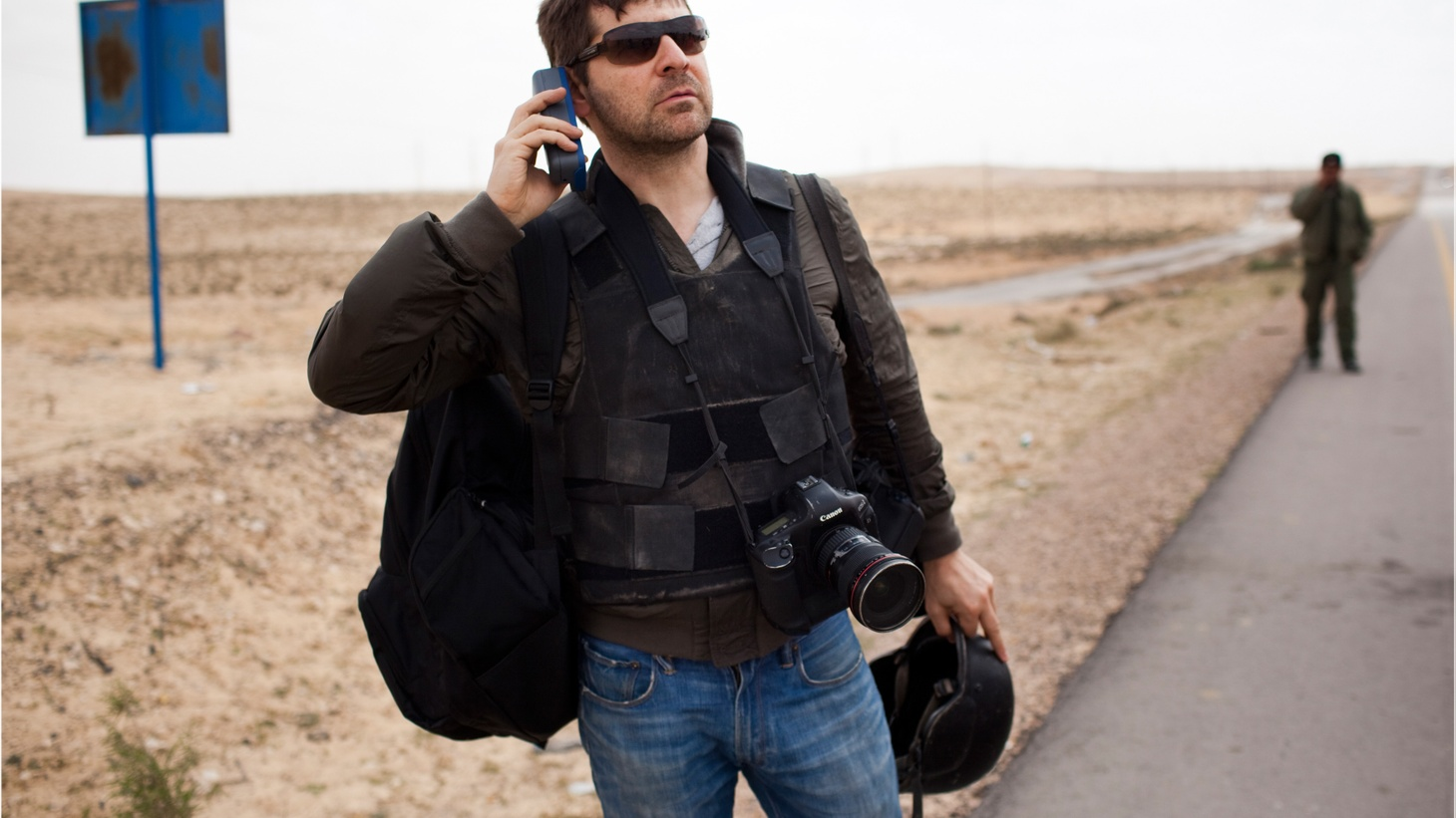 The journalist and filmmaker discusses his documentary about the late photojournalist Chris Hondros.