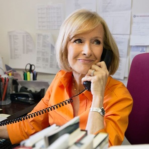 Judy Woodruff: The perfect time to be a journalist