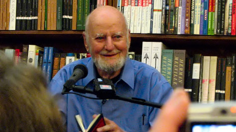 Robert Scheer sits down with Lawrence Ferlinghetti, poet and co-founder of famed City Lights Bookstore to talk about his life and work publishing writers of the Beat Generation.