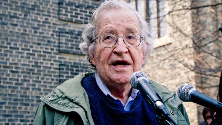 Noam Chomsky Makes the Case for the Lesser of Two Evils
