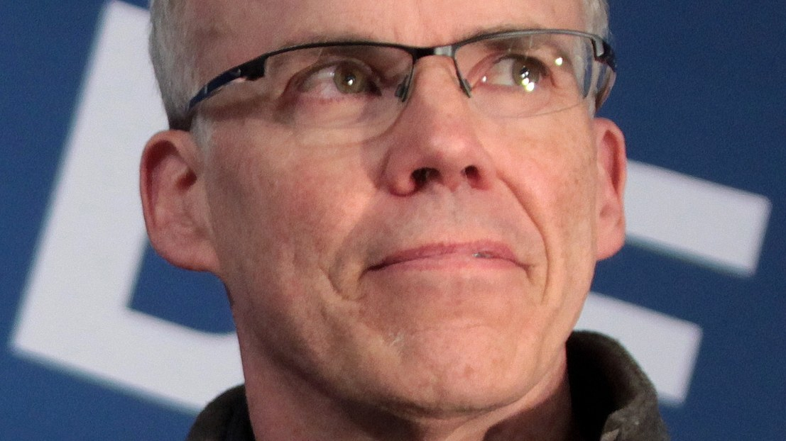 Bill McKibben at a student meeting at Southern New Hampshire University in Hooksett, New Hampshire. January 21, 2016.