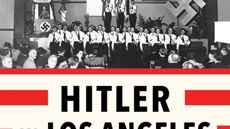 The history professor discusses his new book about a small group of civilians in Los Angeles in the 1930s and 40s who helped fight Nazis in America.