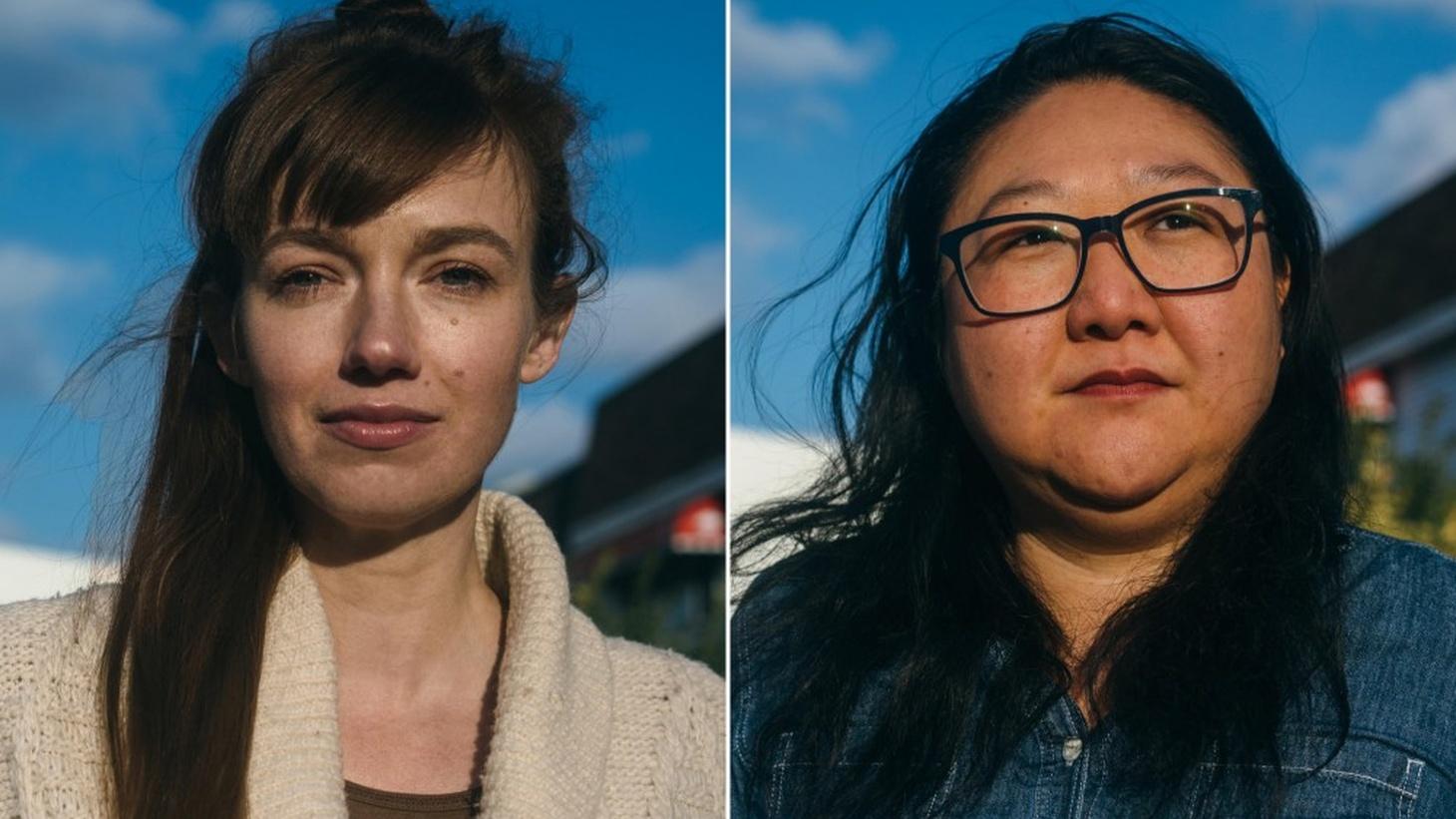 Filmmakers, Emelie Mahdavian and Su Kim