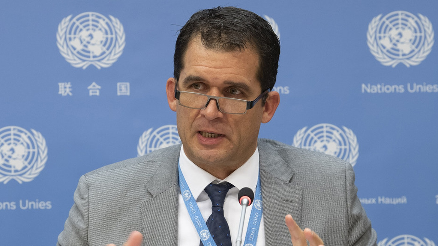 "Nils Melzer, Special Rapporteur on torture and other cruel, inhuman or degrading treatment or punishment during panel "" The death penalty and the prohibition of torture and other cruel, inhuman or degrading treatment or punishment at a 34th Session of the Human Rights Council. 1 March 2017."