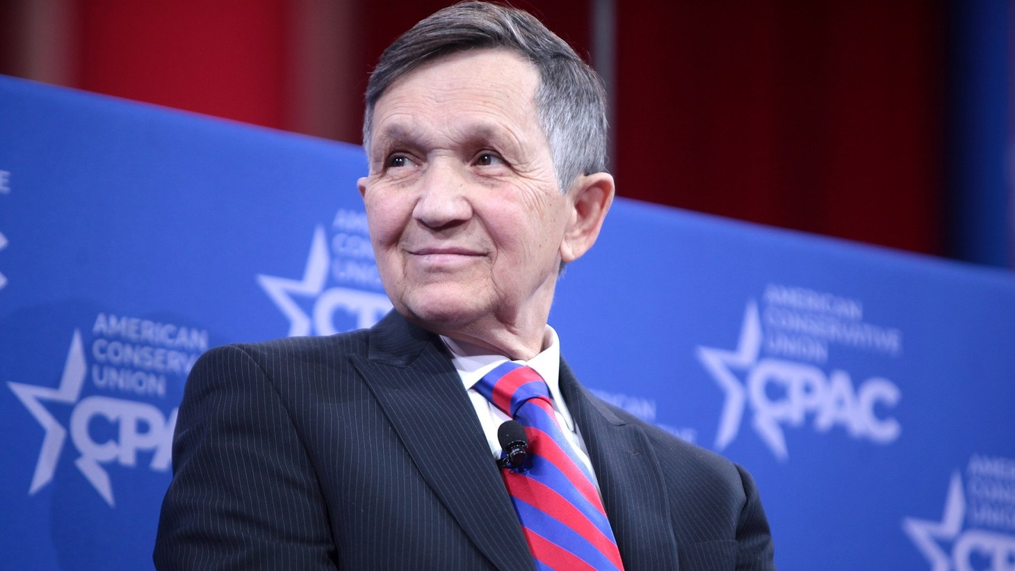 Dennis Kucinich speaking at CPAC 2015 in Washington, DC.