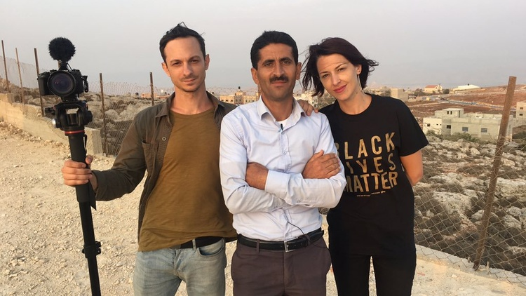 Filmmakers Abby Martin and Mike Prysner discuss the war crimes being committed in Gaza and how a resolution could be reached in the Middle East.