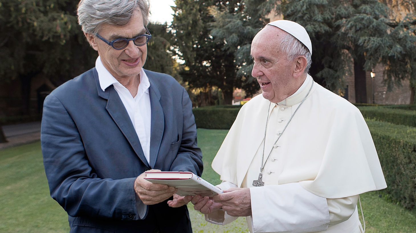 The Oscar nominated director discusses his documentary about the current pope.